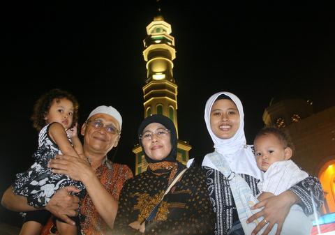 Latar belakang Mesjid Islamic center di Samarinda