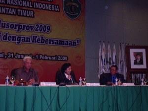 Pembukaan Musorprov koni kaltim 31 januari 2009 di Samarinda